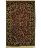 RugStudio presents Surya Taj Mahal Tj-1143 Red / Black Hand-Knotted, Best Quality Area Rug