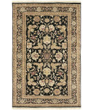 RugStudio presents Surya Taj Mahal Tj-44 Black Hand-Knotted, Best Quality Area Rug