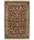 RugStudio presents Surya Taj Mahal Tj-59 Red / Gold Hand-Knotted, Best Quality Area Rug