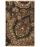RugStudio presents Surya Taj Mahal TJ-6584 Dark Brown Hand-Knotted, Good Quality Area Rug