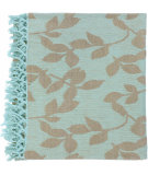 RugStudio presents Surya Throws Timaro 2002 Aqua-Tan