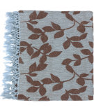 RugStudio presents Surya Throws Timaro 2003 Sky Blue-Brown