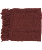 RugStudio presents Surya Throws Tobias 1001 Burgundy
