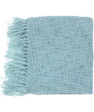 RugStudio presents Surya Throws Tobias 1006 Spa Blue