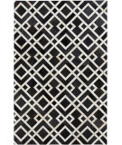 RugStudio presents Surya Trail TRL-1130 Black / Ivory Area Rug