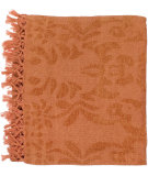 RugStudio presents Surya Throws Tristen 2005 Orange Spice