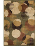 RugStudio presents Surya Ventura VNT-7003 Beige / Green Machine Woven, Good Quality Area Rug