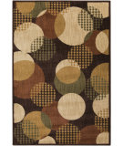 RugStudio presents Surya Ventura VNT-7004 Neutral / Green Machine Woven, Good Quality Area Rug