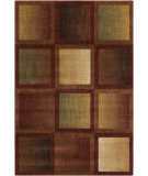 RugStudio presents Surya Ventura VNT-7006 Neutral / Red Machine Woven, Good Quality Area Rug