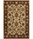 RugStudio presents Surya Ventura VNT-7009 Neutral / Red / Green Machine Woven, Good Quality Area Rug