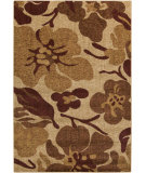 RugStudio presents Surya Ventura VNT-7013 Neutral / Red Machine Woven, Good Quality Area Rug