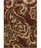 RugStudio presents Surya Ventura VNT-7015 Beige / Green / Red Machine Woven, Good Quality Area Rug