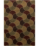 RugStudio presents Surya Ventura VNT-7016 Neutral / Green / Red Machine Woven, Good Quality Area Rug