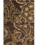 RugStudio presents Surya Ventura VNT-7019 Rust / Green Machine Woven, Good Quality Area Rug