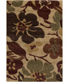 RugStudio presents Rugstudio Sample Sale 107159R Mocha / Olive Machine Woven, Good Quality Area Rug