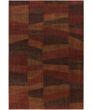 RugStudio presents Surya Ventura VNT-7025 Neutral / Red Machine Woven, Good Quality Area Rug