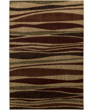 RugStudio presents Surya Ventura VNT-7027 Burgundy / Green Machine Woven, Good Quality Area Rug