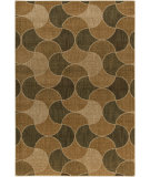 RugStudio presents Surya Ventura VNT-7029 Beige / Green Machine Woven, Good Quality Area Rug