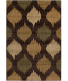 RugStudio presents Surya Ventura VNT-7030 Beige / Green Machine Woven, Good Quality Area Rug