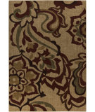 RugStudio presents Surya Ventura VNT-7031 Neutral / Red / Green Machine Woven, Good Quality Area Rug