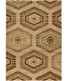 RugStudio presents Surya Ventura VNT-7035 Neutral / Green / Red Machine Woven, Good Quality Area Rug
