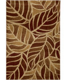 RugStudio presents Surya Ventura VNT-7036 Neutral / Green / Red Machine Woven, Good Quality Area Rug