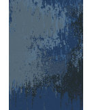 RugStudio presents Surya Watercolor WAT-5002 Blue Gray Hand-Knotted, Good Quality Area Rug