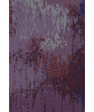 RugStudio presents Surya Watercolor WAT-5003 Red / Violet (purple) / Blue Area Rug