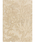 RugStudio presents Surya William Morris Wlm-3002 Beige Hand-Tufted, Good Quality Area Rug