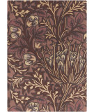 RugStudio presents Surya William Morris Wlm-3006 Burgundy Hand-Tufted, Good Quality Area Rug
