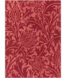 RugStudio presents Surya William Morris Wlm-3007 Cherry/ Hot Pink Hand-Tufted, Good Quality Area Rug
