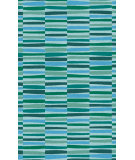 RugStudio presents Surya Young Life YGL-7006 Blue / Green Hand-Tufted, Best Quality Area Rug