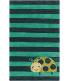 RugStudio presents Surya Young Life YGL-7010 Green / Neutral / Blue Area Rug