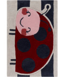 RugStudio presents Surya Young Life YGL-7011 Red / Pink / Blue Hand-Tufted, Good Quality Area Rug