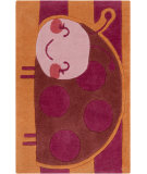 RugStudio presents Surya Young Life YGL-7012 Hot Pink Hand-Tufted, Good Quality Area Rug