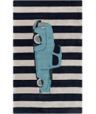RugStudio presents Surya Young Life YGL-7013 Navy Hand-Tufted, Good Quality Area Rug