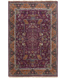 RugStudio presents Surya Zeus Zeu-7821 Eggplant Hand-Knotted, Best Quality Area Rug