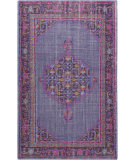RugStudio presents Surya Zahra ZHA-4001 Pink / Violet (purple) / Blue / Neutral Area Rug