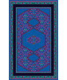 RugStudio presents Surya Zahra ZHA-4002 Neutral / Red / Violet (purple) / Blue / Green Area Rug