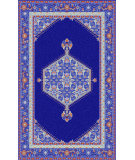 RugStudio presents Surya Zahra ZHA-4003 Neutral / Orange / Red / Violet (purple) / Blue Area Rug