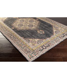 RugStudio presents Surya Zahra ZHA-4004 Charcoal Hand-Knotted, Best Quality Area Rug
