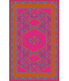 RugStudio presents Surya Zahra ZHA-4008 Magenta Hand-Knotted, Best Quality Area Rug