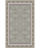 RugStudio presents Surya Zahra ZHA-4009 Neutral / Green / Blue Hand-Knotted, Best Quality Area Rug
