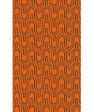 RugStudio presents Surya Zahra ZHA-4017 Green / Orange Area Rug
