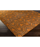 RugStudio presents Surya Zahra ZHA-4017 Burnt Orange Hand-Knotted, Best Quality Area Rug
