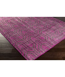 RugStudio presents Surya Zahra ZHA-4018 Magenta Hand-Knotted, Best Quality Area Rug