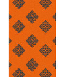RugStudio presents Surya Zahra ZHA-4025 Green / Orange Hand-Knotted, Best Quality Area Rug