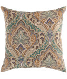 RugStudio presents Surya Pillows ZZ-400 Sea Foam/Teal