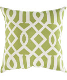 RugStudio presents Surya Pillows ZZ-415 Lime/Ivory