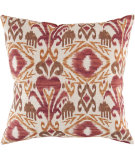 RugStudio presents Surya Pillows ZZ-419 Burgundy/Rust